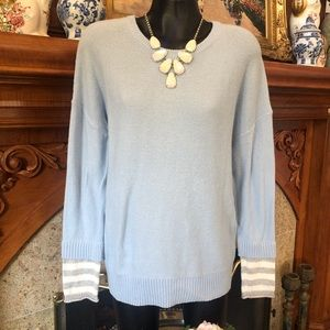 Nordstrom Caslon Baby Blue Sky Sweater